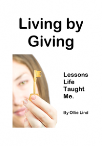 image of Living by Giving -- Leeson Life Taught Me by Ollie Lind book cover